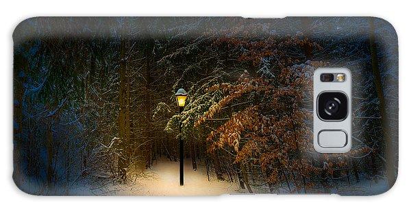 Lantern In The Wood Galaxy Case