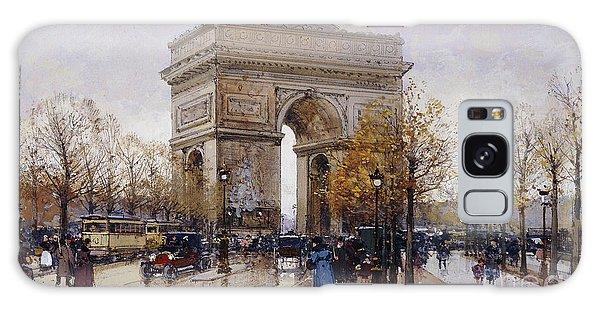 L'arc De Triomphe Paris Galaxy Case