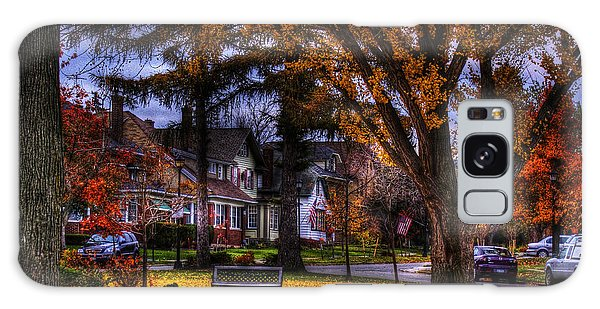 Larchmont-radcliffe Park Galaxy Case by Don Nieman