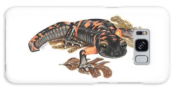 Large Blotched Salamander2 Galaxy Case