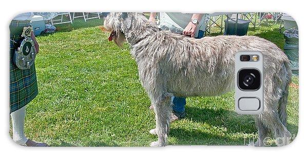 Large Irish Wolfhound Dog  Galaxy Case