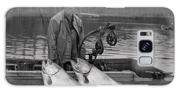Large King Salmon Moss Landing Monterey California  Circa 1955 Galaxy Case