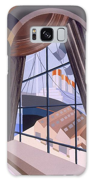 Bay Galaxy Case - Large Window With A Seat, From Relais by Edouard Benedictus