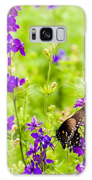 Larkspur Visitor Galaxy Case