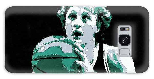 Larry Bird Poster Art Galaxy Case