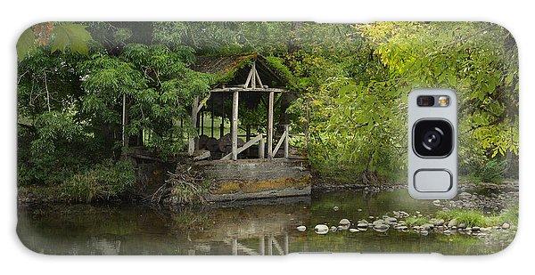 Larwood Covered Bridge Park Galaxy Case