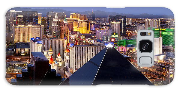 Las Vegas Skyline Galaxy Case