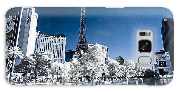 Las Vegas Strip In Infrared 2 Galaxy Case