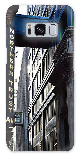 Galaxy Case featuring the photograph Lasalle Street2 by Gerald Greenwood