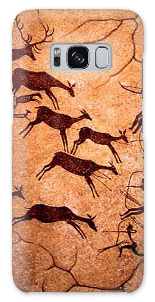 Lascaux Stag Hunting Galaxy Case