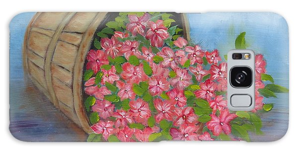 Last Flowers Of Summer Galaxy Case by Sharon Schultz