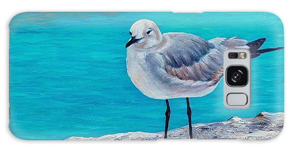 Last Gull Standing Galaxy Case by Susan DeLain