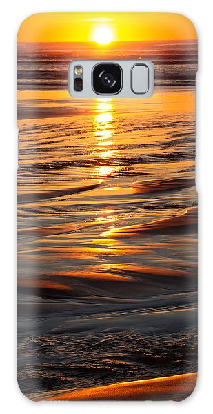 Last Hug Point Sunset 2014 Galaxy Case by Steven A Bash