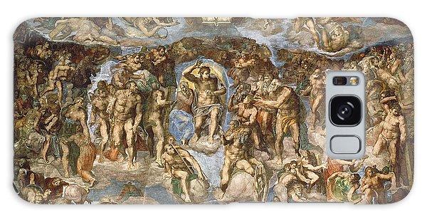 Anguish Galaxy Case - Last Judgement, From The Sistine Chapel, 1538-41 Fresco by Michelangelo Buonarroti