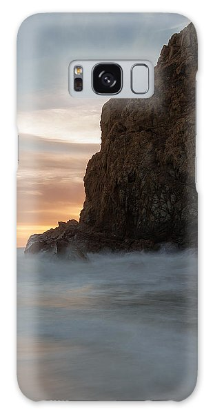 Last Light At Big Sur Galaxy Case by Tim Bryan