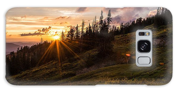 National Monument Galaxy Case - Last Light At Cedar by Chad Dutson
