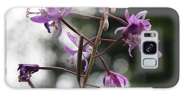 Last Mountain Flowers Galaxy Case by Amanda Holmes Tzafrir