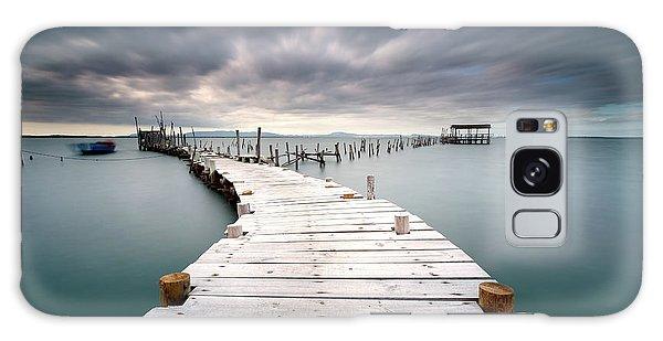 Pier Galaxy Case - Last Path by Jorge Feteira