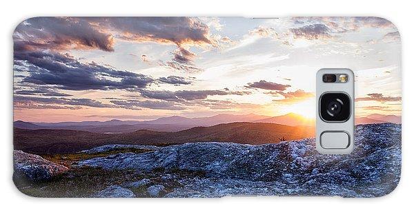 Last Rays. Sunset On Foss Mountain. Galaxy Case