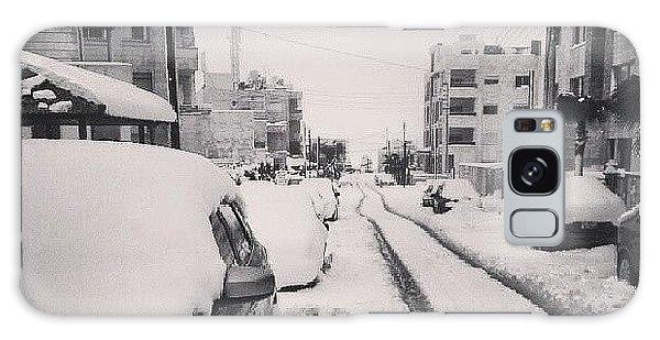 Last Snow In Amman,  Dec. 13 #beamman Galaxy Case