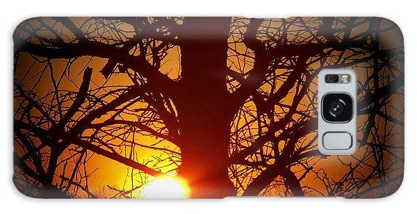 Last Sunset Of 2013 Galaxy Case