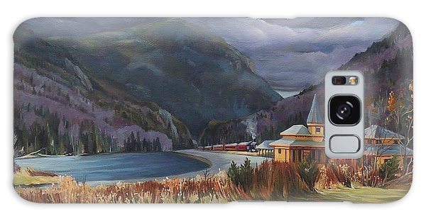 Last Train To Crawford Notch Depot Galaxy Case by Nancy Griswold
