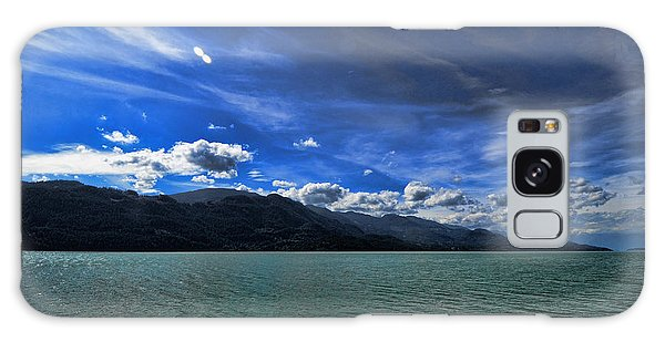 Late Afternoon On Harrison Lake Bc Galaxy Case