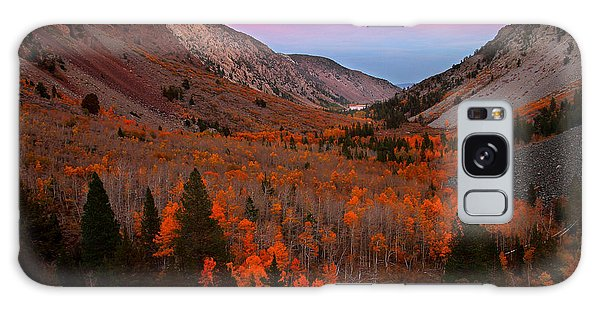 Late Autumn Sunset At Lundy Canyon In The Eastern Sierras Galaxy Case