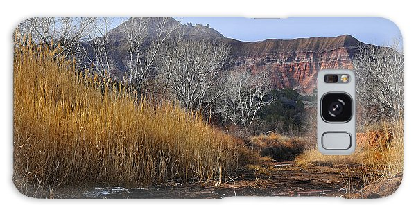 Late Fall In Palo Duro Canyon Galaxy Case by Karen Slagle
