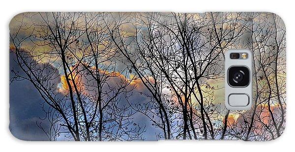 Late Fall Sunrise Galaxy Case