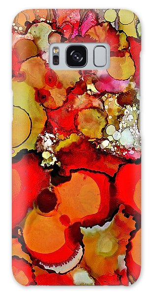 Late Summer Flowers Galaxy Case by Bellesouth Studio