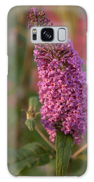 Late Summer Wildflowers Galaxy Case