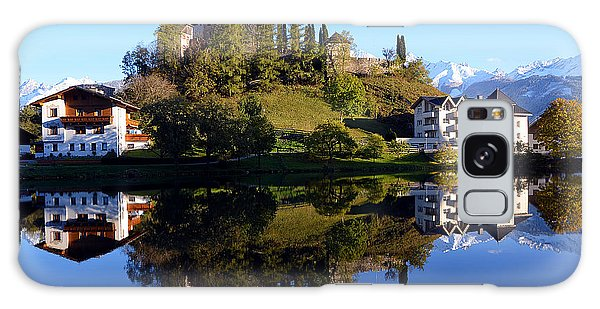 Laudegg Castle In Tyrol Galaxy Case