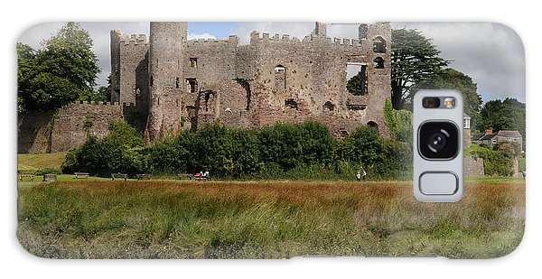 Laugharne Castle Galaxy Case by Jeremy Voisey