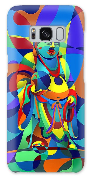 Laughing Buddha Galaxy Case