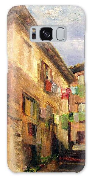 Laundry In Spoleto Galaxy Case