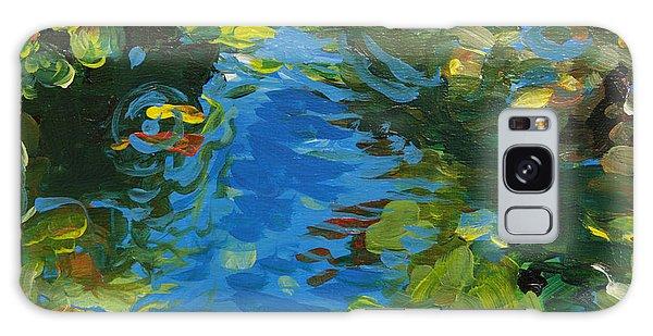 Laura's Pond II Galaxy Case by Trina Teele