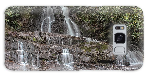 Laurel Falls - Great Smoky Mountains National Park Galaxy Case