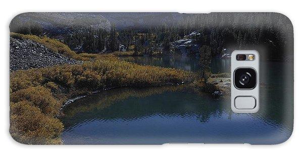 Laurel Lake Fall Color Reflections Galaxy Case