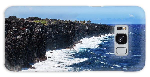 Lava Shore Galaxy Case