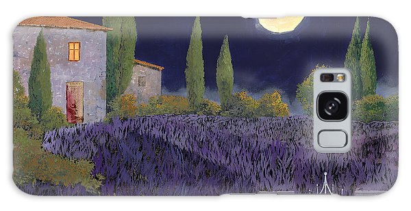 Evening Galaxy Case - Lavanda Di Notte by Guido Borelli