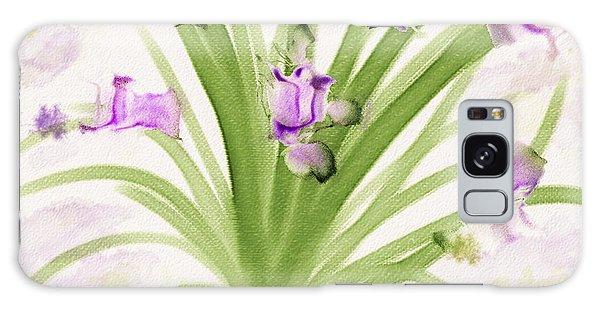 Lavendar Blossoms Galaxy Case
