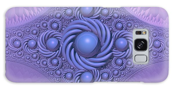 Lavender Beauty Galaxy Case by Lyle Hatch