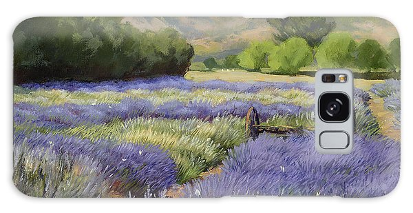 Lavender Blue Galaxy Case