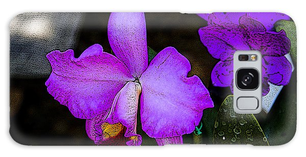 Lavender Catleya Orchid Galaxy Case