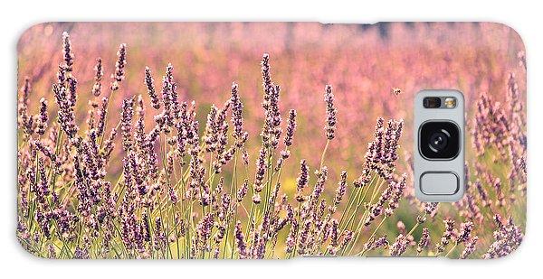 Lavender Dreams Galaxy Case by Lynn Sprowl