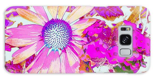 Lavender Echinacea Galaxy Case