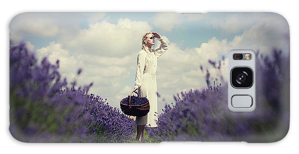 Basket Galaxy Case - Lavender Field by Dorota G?recka