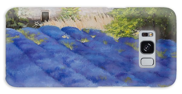 Lavender Fields Galaxy Case