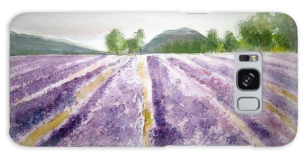 Lavender Fields Tasmania Galaxy Case